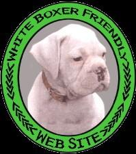 White Boxer Logo